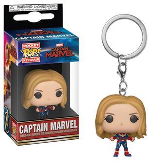 Funko Pop! Porta-Chaves Captain Marvel