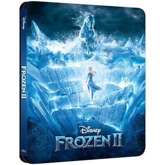 Frozen 2:- O Reino do Gelo - Edição Steelbook - Blu-ray Importação