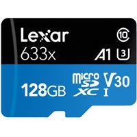 Cartão Memória MicroSDXC Lexar LSDMI128-633X V30 633x - 128GB