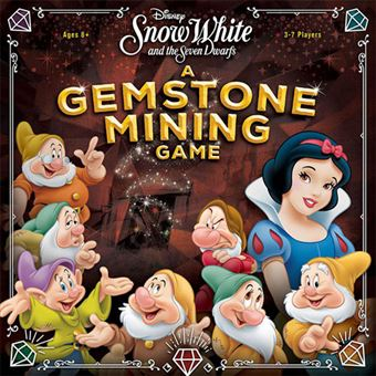 Snow White & The Seven Dwarfs: A Gemstone Mining Game - USAopoly