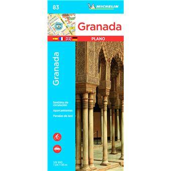 Plano Michelin Pleg 83 - Espanha: Granada