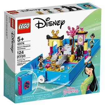 LEGO Disney Princess 43174 Aventuras do Livro de Contos da Mulan