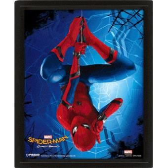 Poster 3D Lenticular Spider-Man Homecoming Hang