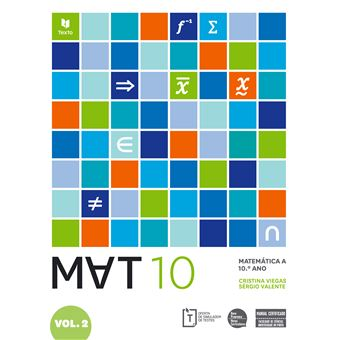 MAT 10 Matemática A 10º Ano - Manual do Aluno