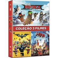 Pack LEGO Ninjago + LEGO Batman + LEGO: O Filme - DVD