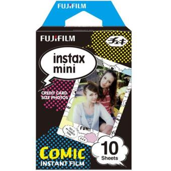 Fujifilm Carga ColorFilm Instax Mini Comic 10x Folhas
