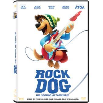 Rock Dog - Um Sonho Altamente! (DVD)