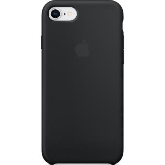 Capa Silicone Apple para iPhone 8 | 7 - Preto