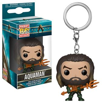 Funko Pop! Porta-Chaves Aquaman: Arthur Curry as Gladiator