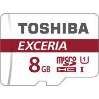 Cartão Memória MicroSD 8GB Toshiba Exceria THN-M301R0080EA