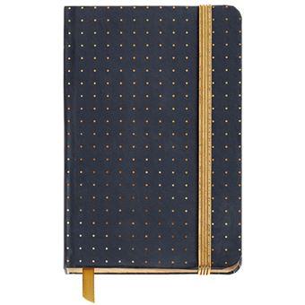Caderno Liso Black & White - Preto Bolso