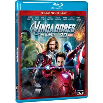 Os Vingadores (Blu-ray 3D + 2D)