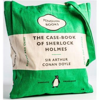 Saco The Case-Book of Sherlock Holmes Penguin Books - Verde