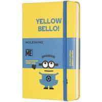 Caderno Pautado Moleskine Minions - Yellow Bello! Bolso