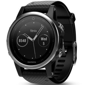 Relógio Desporto Garmin Fēnix 5S 42mm - Prateado | Preto