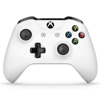 Microsoft Xbox One Slim White Wireless Controller