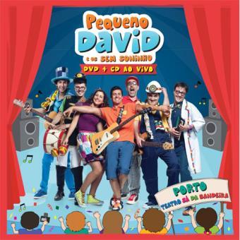 Pequeno David e os Sem Soninho - Ao vivo Teatro Sá da Bandeira (CD+DVD)