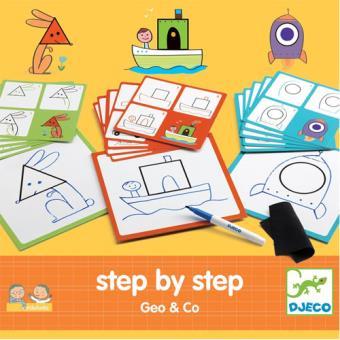 Desenhar Passo-a-Passo- Geo & Co - Djeco