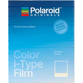 Carga Polaroid Originals i-Type Summer Blues Edition - 8 Folhas