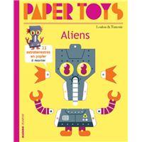 Paper toys - aliens