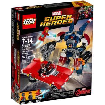 LEGO Marvel Super Heroes 76077 Iron Man: Detroit Steel Ataca