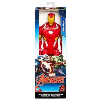Avengers Figura Titan Iron Man - 12cm - Hasbro