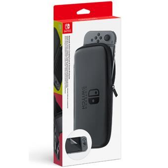 Nintendo Switch Conjunto Bolsa de Transporte + Proteção Ecrã
