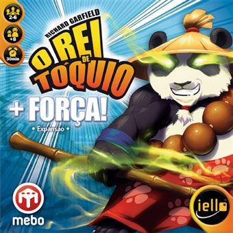 O Rei de Tóquio: Expansão + Força! - MEBO Games