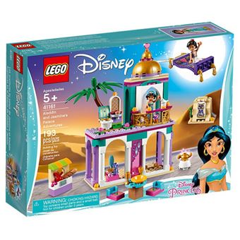 LEGO Disney Princess 41161 As Aventuras de Aladdin e Jasmine no Palácio