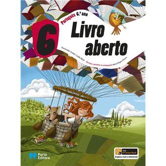 Livro Aberto Português 6º Ano - Manual do Aluno