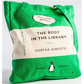 Saco The Body In The Library Penguin - Verde