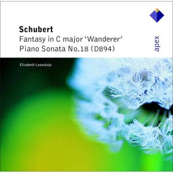Schubert: Wanderer Fantasy & Piano Sonata No. 18 - CD