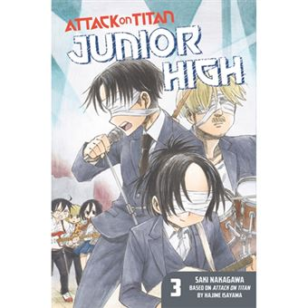 Attack on Titan - Junior High - Volume 3