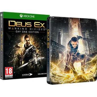 Deus Ex: Mankind Divided Steelbook Edition Xbox One (Day One Edition)