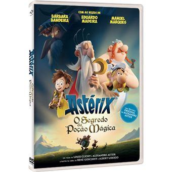 Astérix: O Segredo da Poção Mágica - DVD