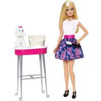 Barbie e Cãozinho Mil Cores