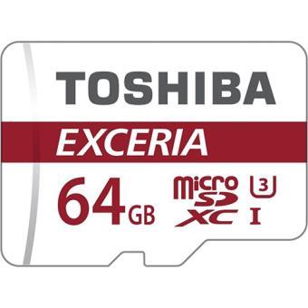 Cartão Memória microSDXC Toshiba Exceria - 64GB