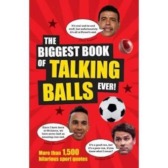 Biggest book of talking balls ever!