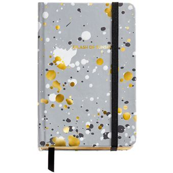 Caderno Liso Black & White - Splash Bolso