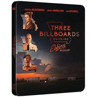 Três Cartazes à Beira da Estrada - Edição Steelbook - Blu-ray