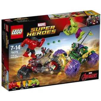 LEGO Marvel Super Heroes 76078 Hulk vs. Red Hulk