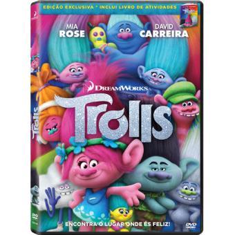Trolls (DVD + Livro)