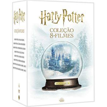 Harry Potter Coleção Completa 8 Filmes - Edição Especial 16DVD