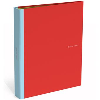 Dossier 4 Argolas Quattro Colori Vermelho A4