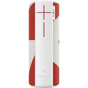 Colunas Bluetooth Logitech Megaboom McLaren MP4/4 Edition - Branco | Vermelho