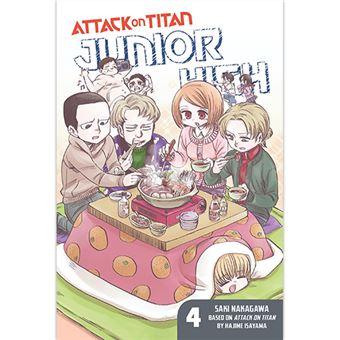 Attack on Titan - Junior High - Volume 4