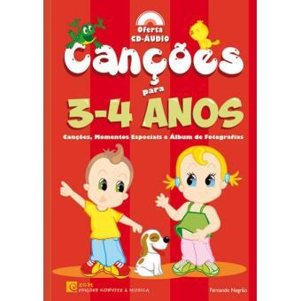 Canções para 3-4 Anos
