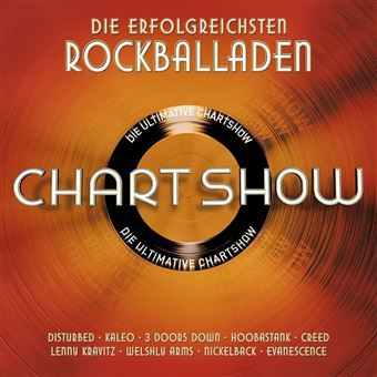 Die ultimative Chartshow: Rockballaden - 2CD