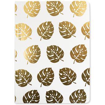 Caderno Pautado Tropical Leaf - Foil A6
