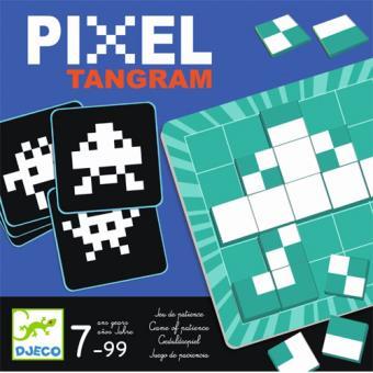 Pixel Tangram Observação - Djeco